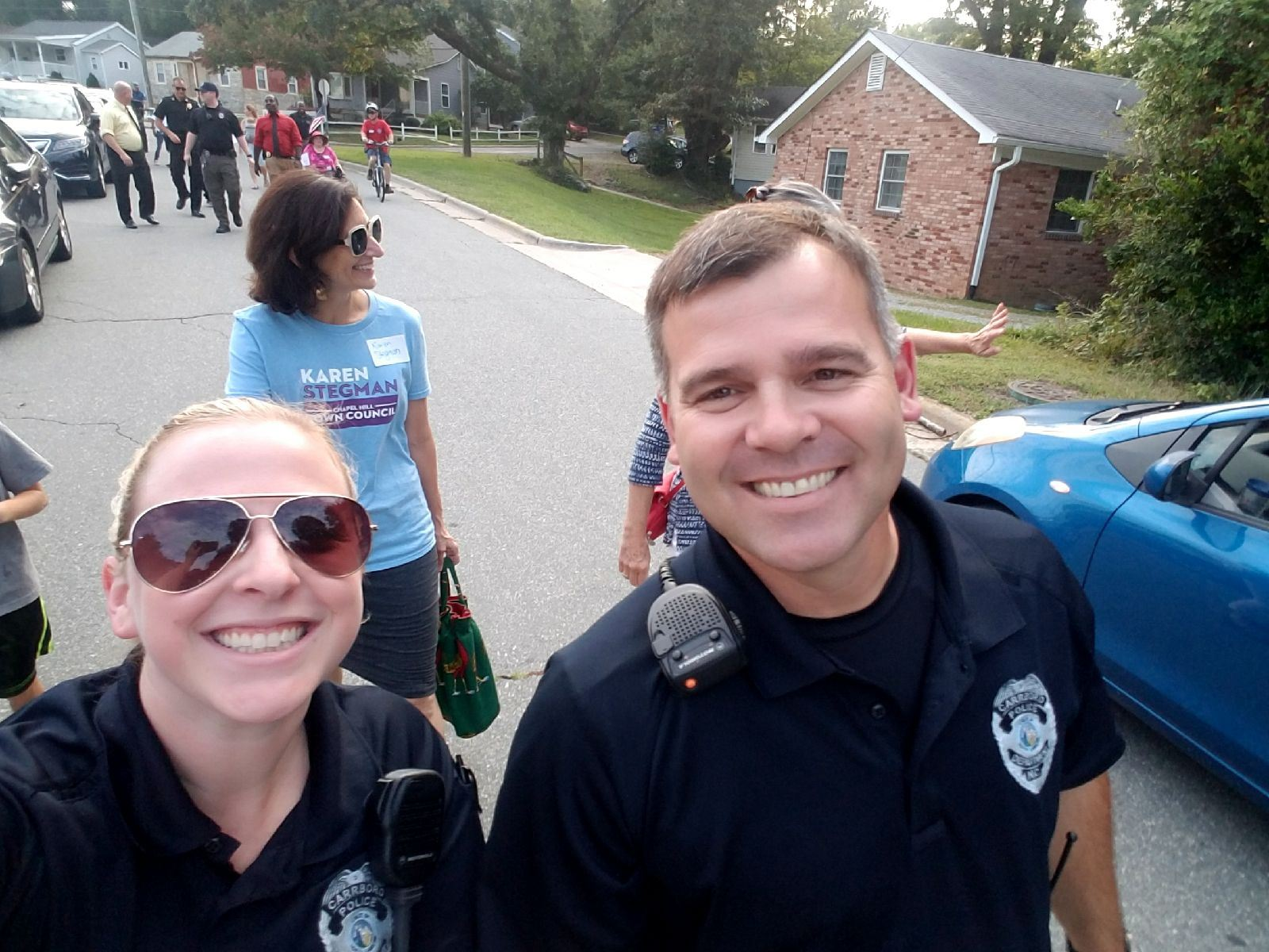Officer Ferraro and Officer Trombley